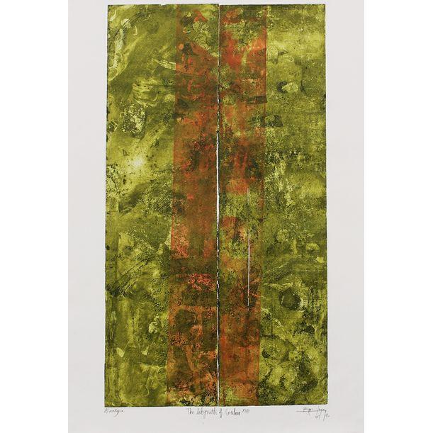 The Labyrinth of Colour XVII by Egga Jaya Prasetya