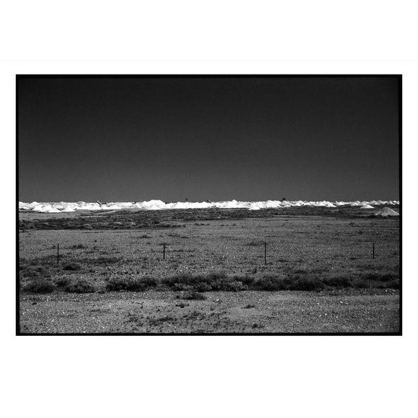 Coober Pedy Opal Mounds #5 by Damian Seagar