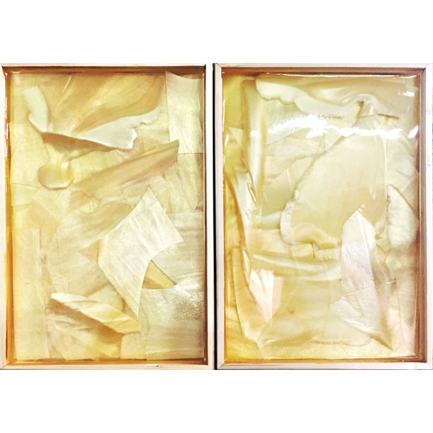 2 Compositions of Materials no.1 by Jazoo Yang