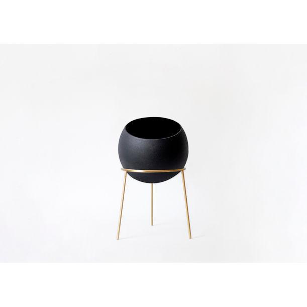 Globe Planter Maxi / Black by Kitbox Design