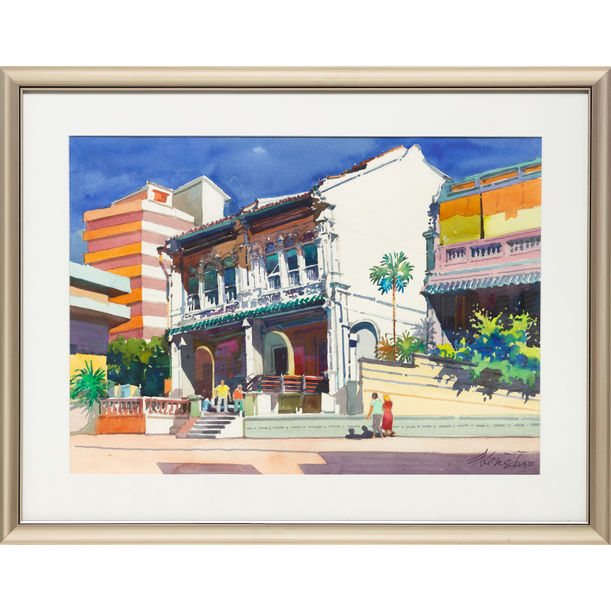 Mohammed Sultan Road (California Style Series) by Ong Kim Seng