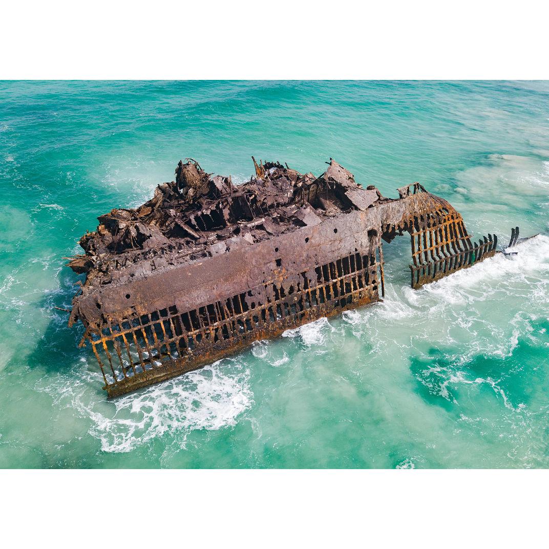 Shipwreck by Harry Jones