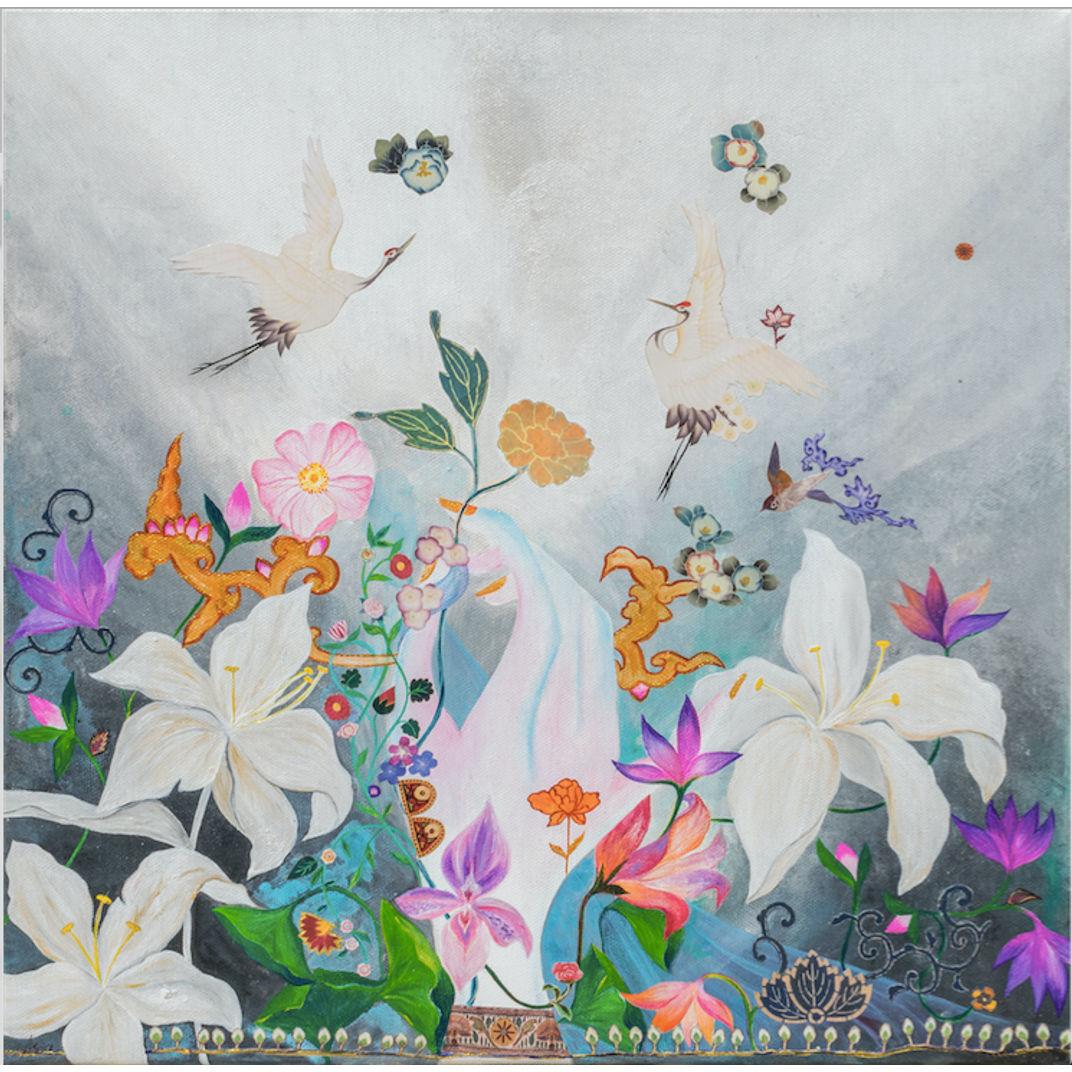 Bloom I by Asia Hillion Kvacova