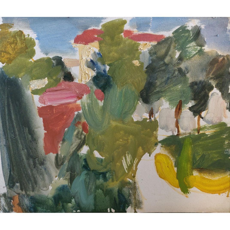Evening in the Garden by Samir Rakhmanov