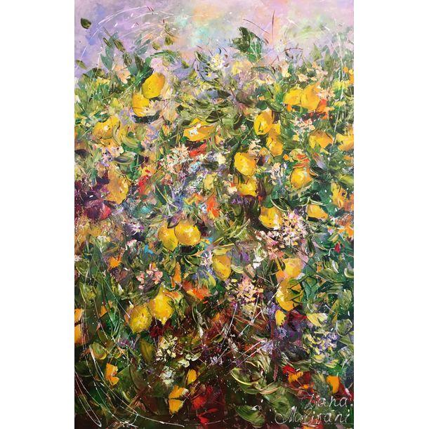 Bloomy Lemon Tree by Diana Malivani