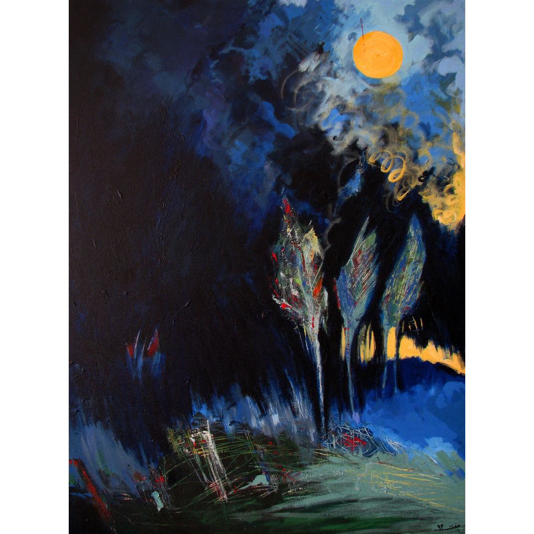Birthday Night by Effat Pourhasani
