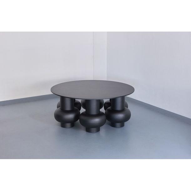 Odyssey table (graphite) by Jiri Krejcirik