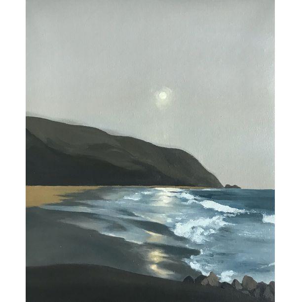 Evening by the Shore by Yi Zhou. Zoe