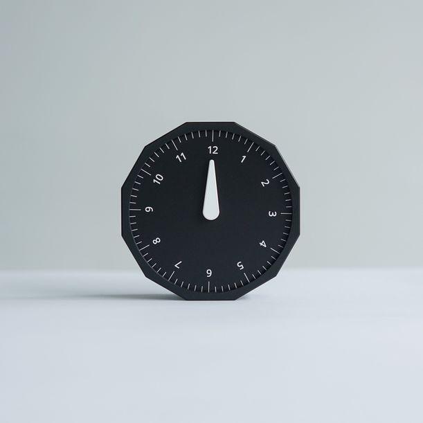 World Clock (Black) by Masafumi Ishikawa