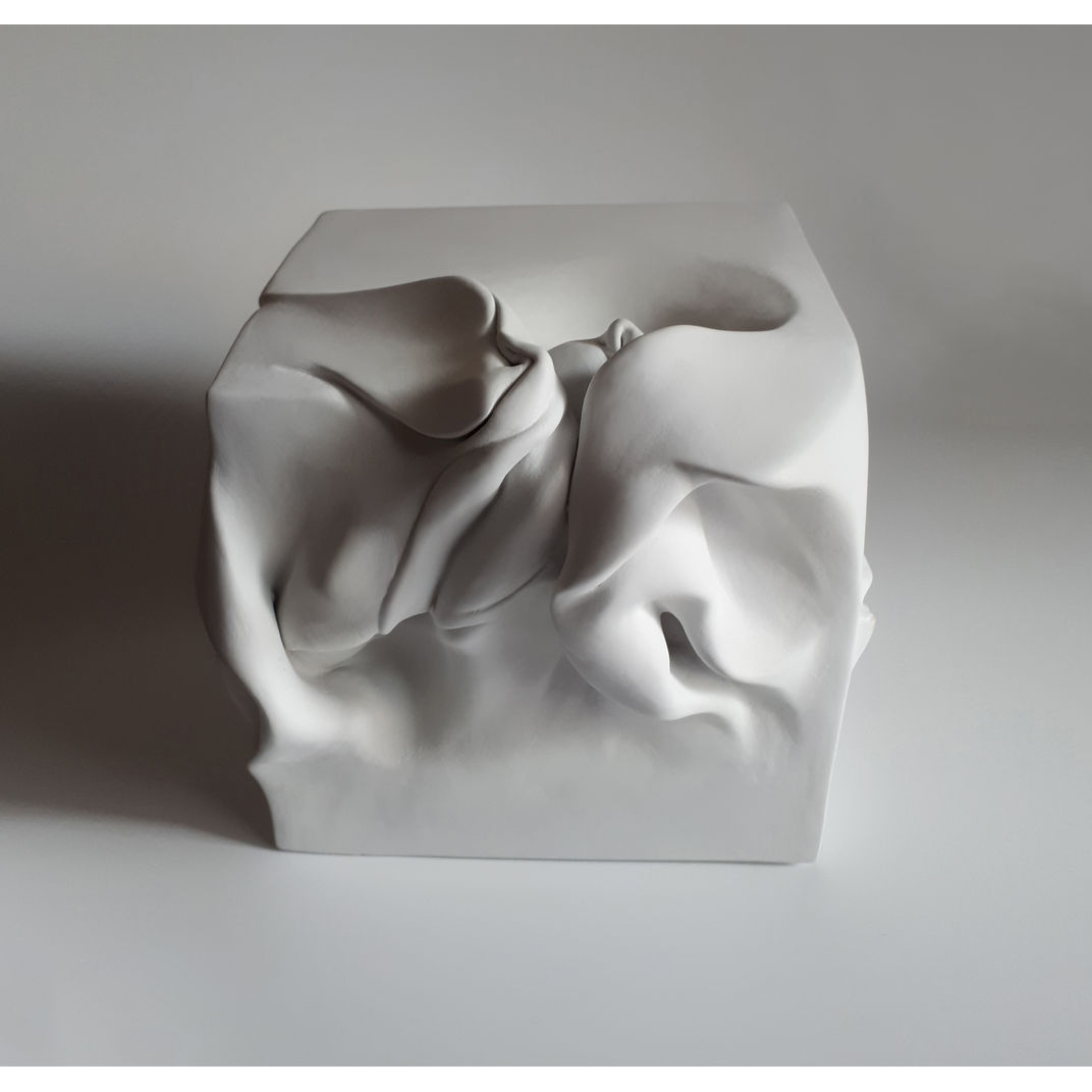 Cube series - Cube 1 by Sharon Brill