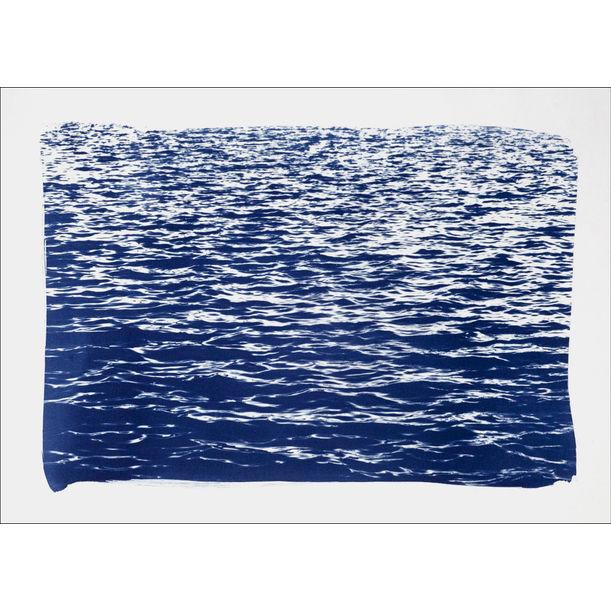 Mediterranean Blue Sea Waves by Kind of Cyan