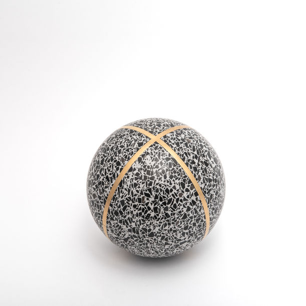 Flint- Sphere by Joyce Wang Studio