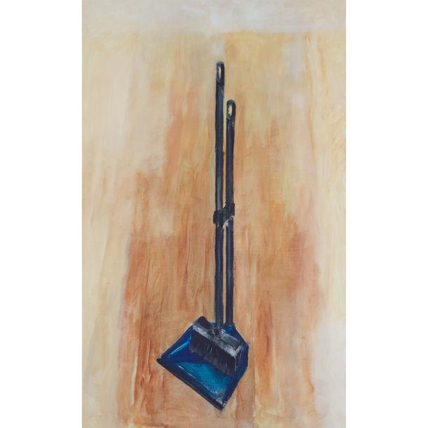 Broom (A new broom sweeps clean) by András Halász