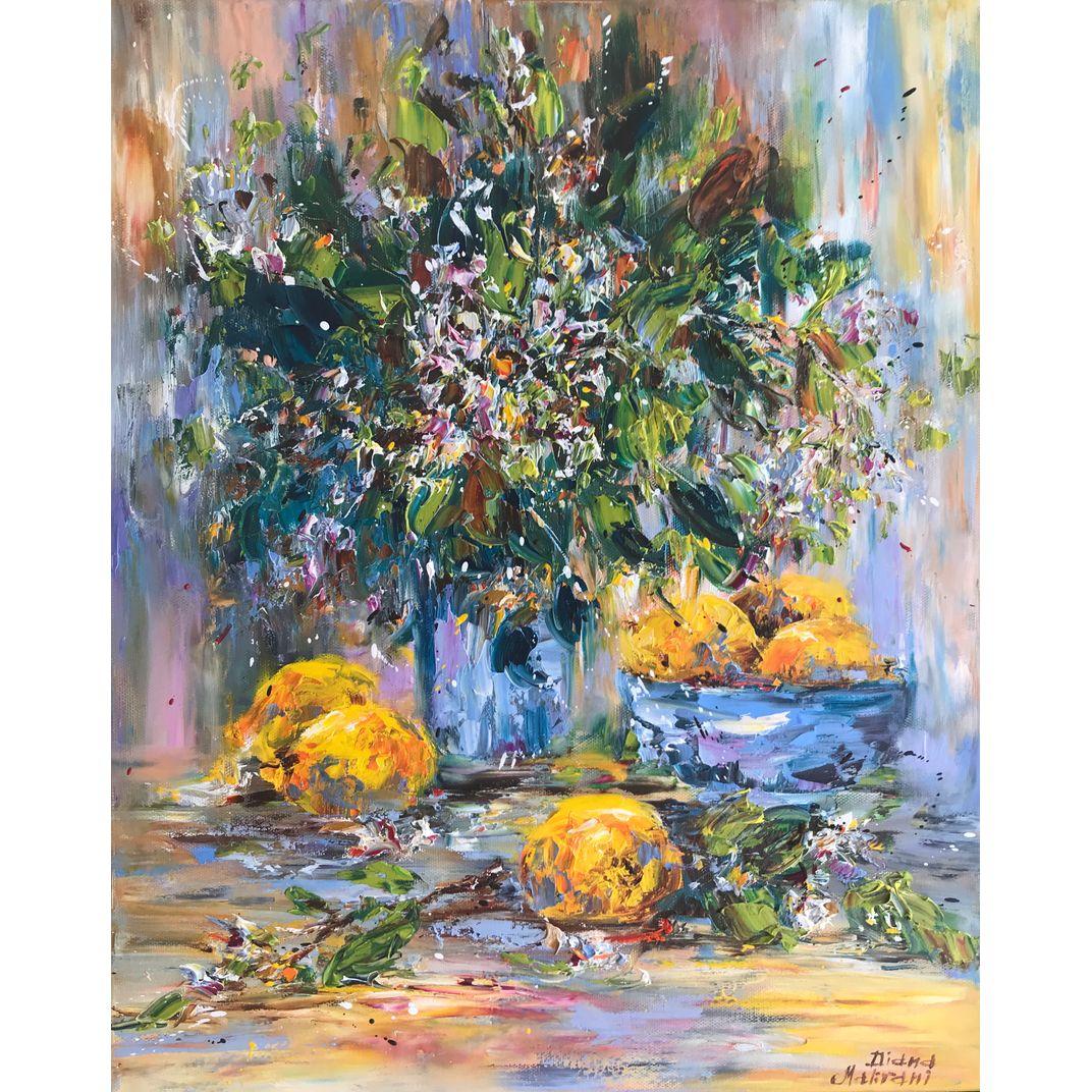 Lemons. Still Life by Diana Malivani