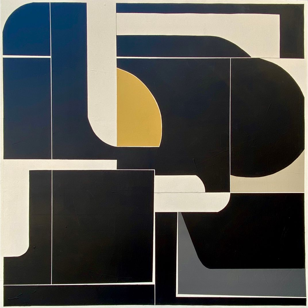 Gold and Grey, #ModernistSeries by Tricia Strickfaden