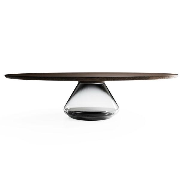 """""""Smoky Eclipse"""" Contemporary Coffee Table by Grzegorz Majka"""