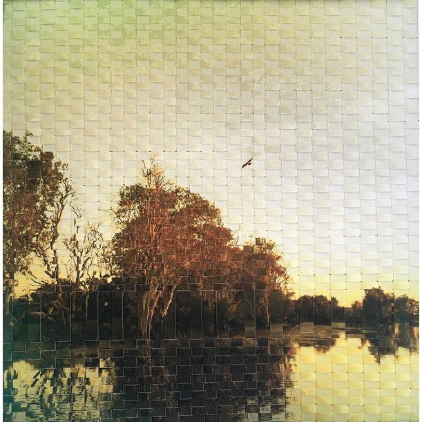 Yellow river weave by Jennifer Bell