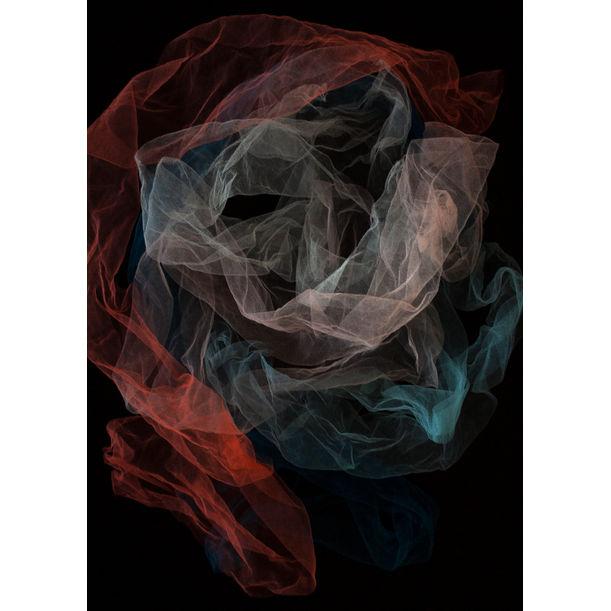 Colour folded veil by Larisa Siverina
