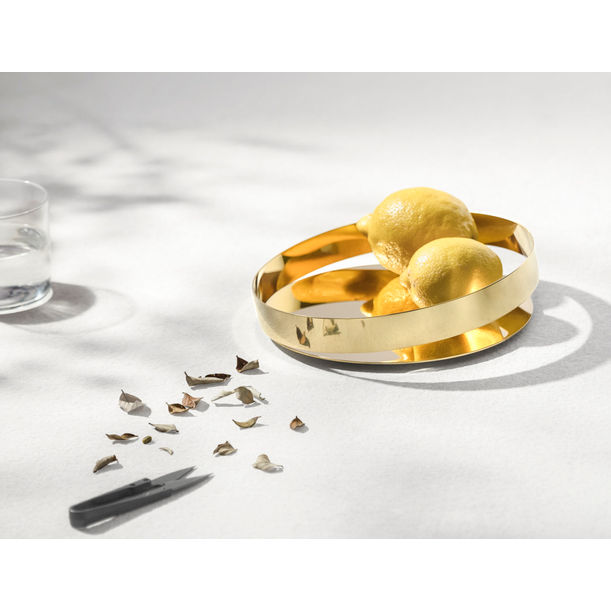 Orbis tray  -Gold-20cm (M) by Beyond Object