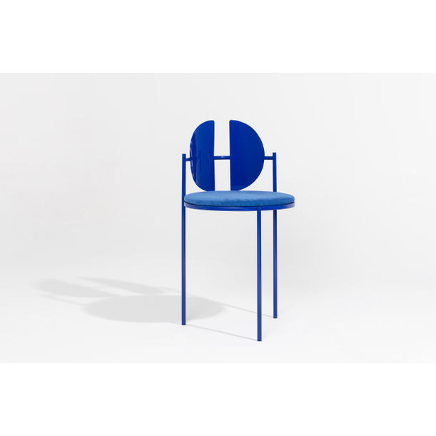 Blue 5002 Qoticher Dining Chair by Angel Mombiedro