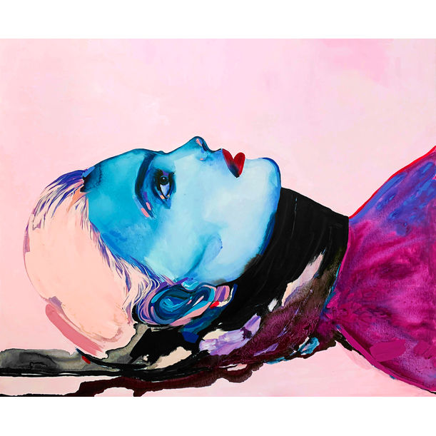 Blue Woman by Amy Beager