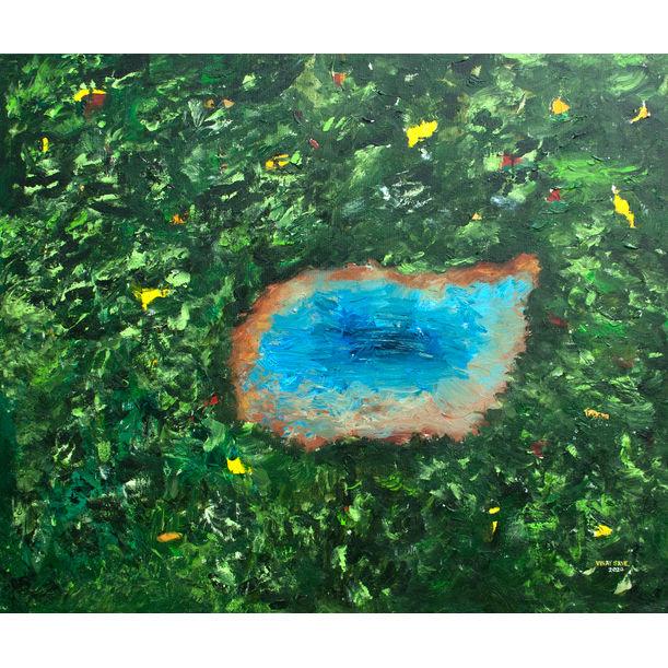 Sacred Lake by VINAY SANE