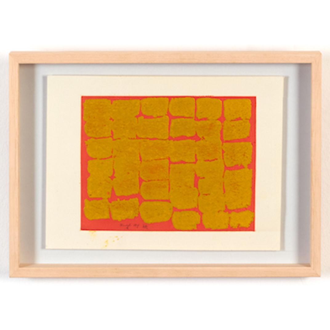 Untitled - Yellow by Chiyu Uemae