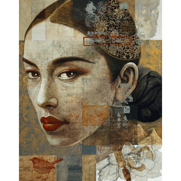Charming Asian Girl No.1 by Jirasak Plabootong
