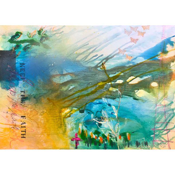 keep the faith III by Bea Garding Schubert