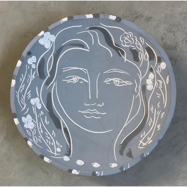 La Femme VII in Gray by Heidi Lanino