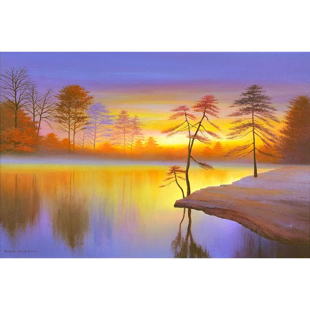Reflection Lake by Richard Leung