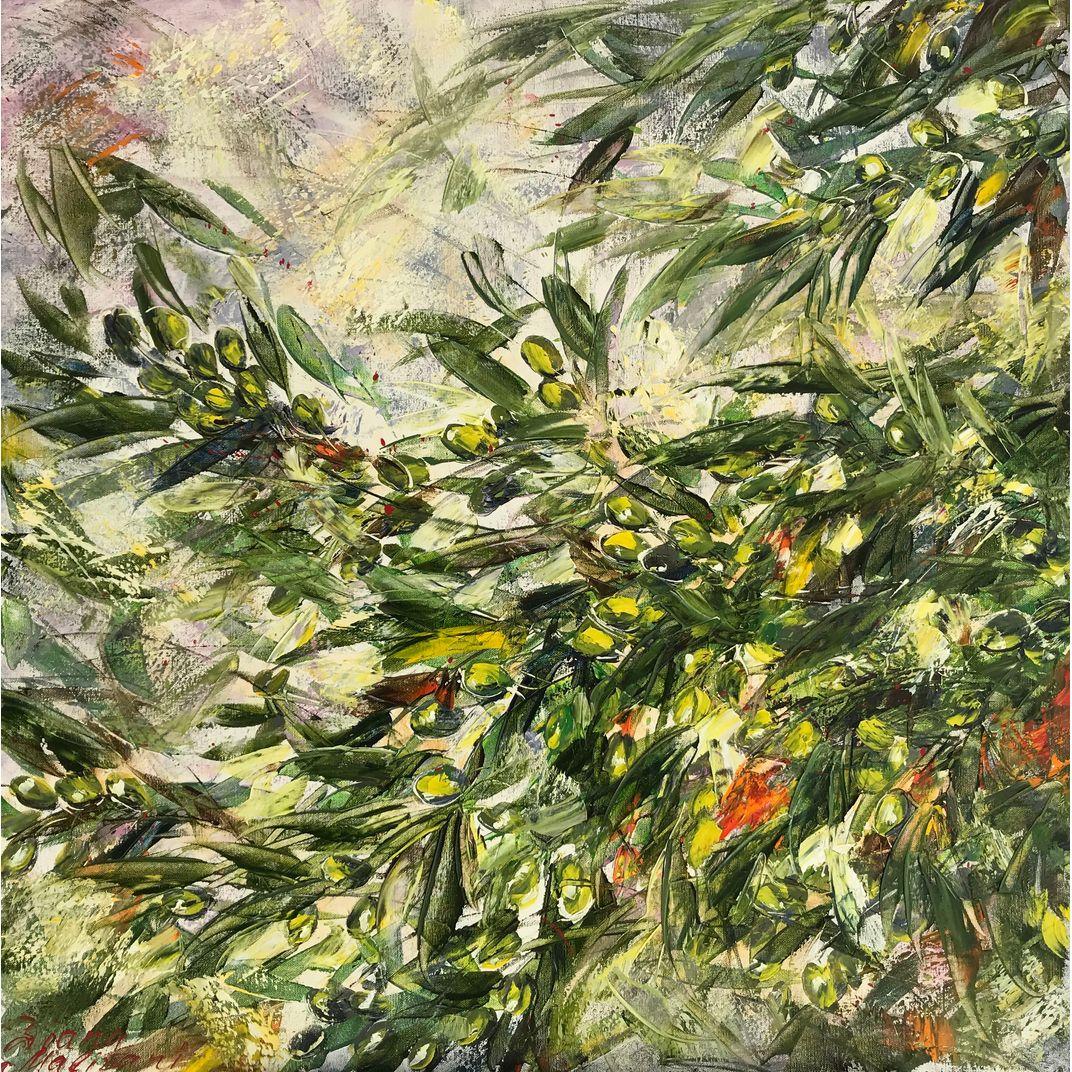 Green Olives by Diana Malivani