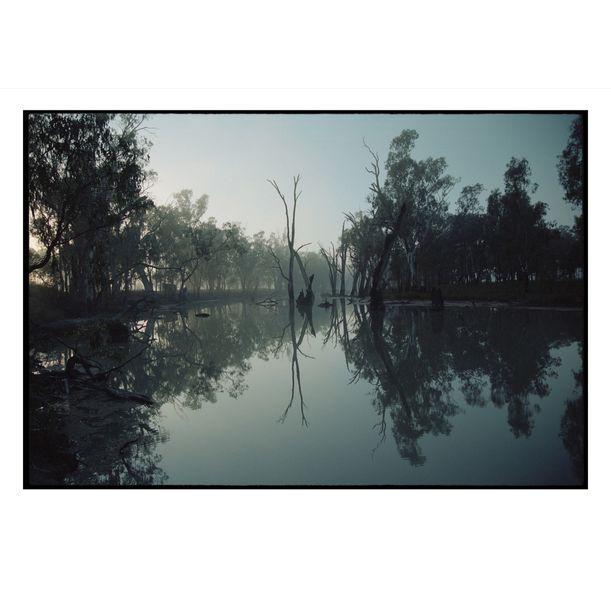Broken Creek Reflection #2 by Damian Seagar