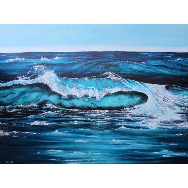 Turquoise Wave by Shveta Saxena