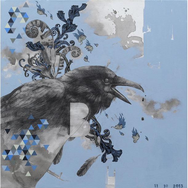 crow by Wattanapon Kitburin