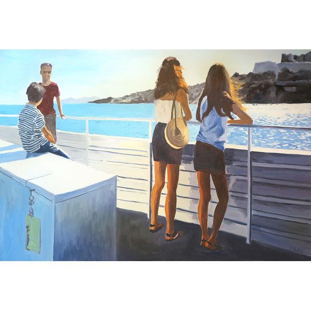 Bateau Ibiza by Karine Bartoli