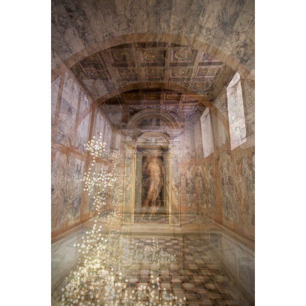 Statue Room, San Sebastian Ca' D'oro at Villa Borghese Venezia by Magda von Hanau