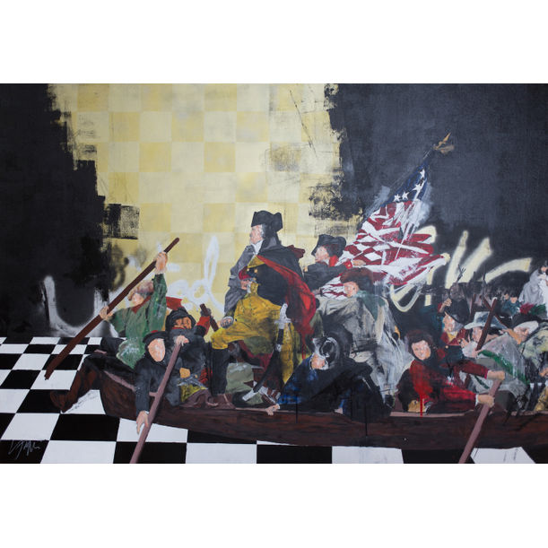 Battles of Trenton and Princeton Contemporary by Tomoya