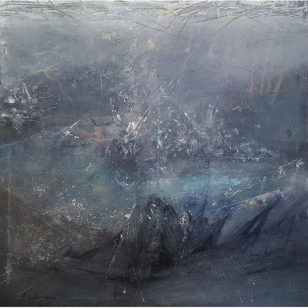 We Are Energy Sublime Greyscape Divine Silence by Kloska Ovidiu