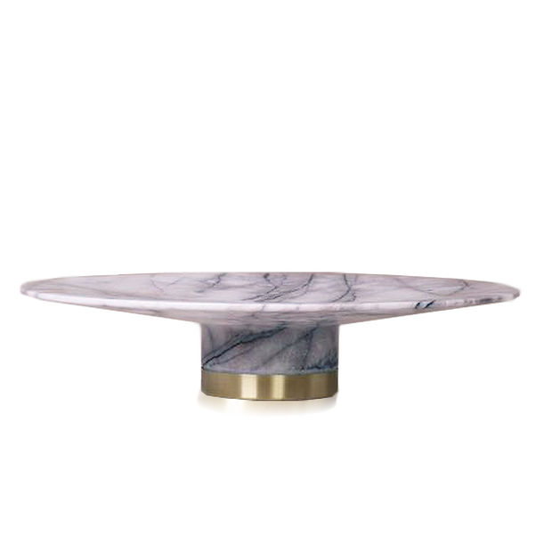 Marble Cake Stand by KONSTANTIN
