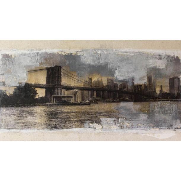 New York, Brooklyn Bridge by Tomoya