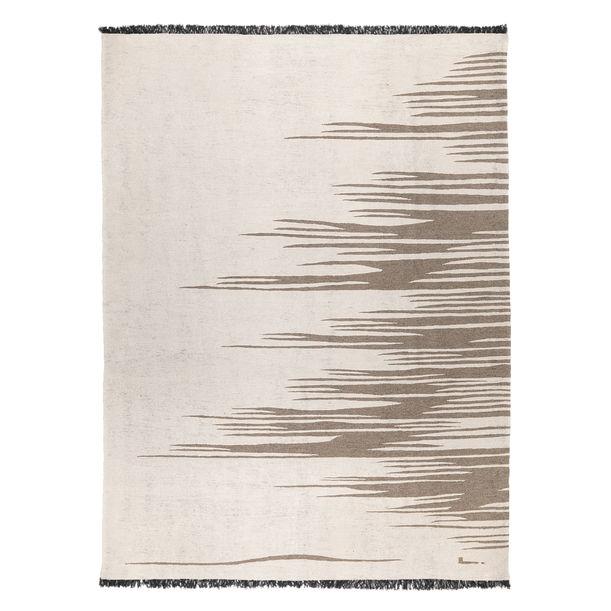 Ege No 3 Kilim Rug (Dune White) by Studio Kali by Fulden Topaloglu