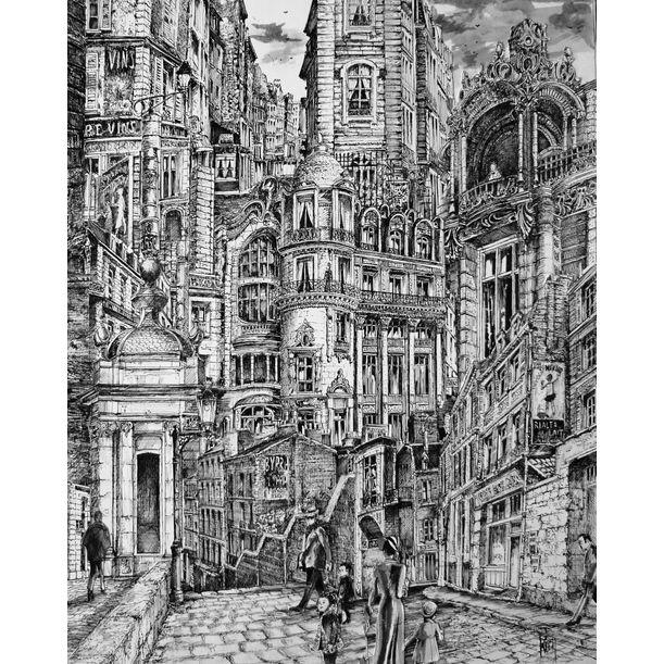 Urban Landscape 2 by Koen De Weerdt