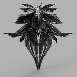 Virtual sculpture  x by Junli Huang