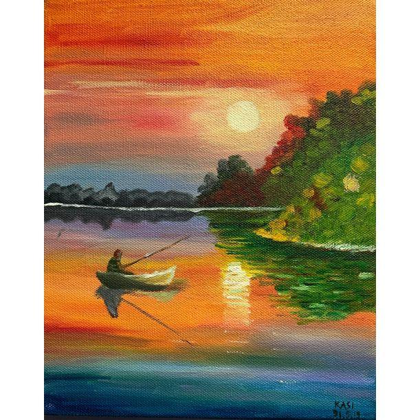 Homecoming at Sunset by Sindhu Kasi