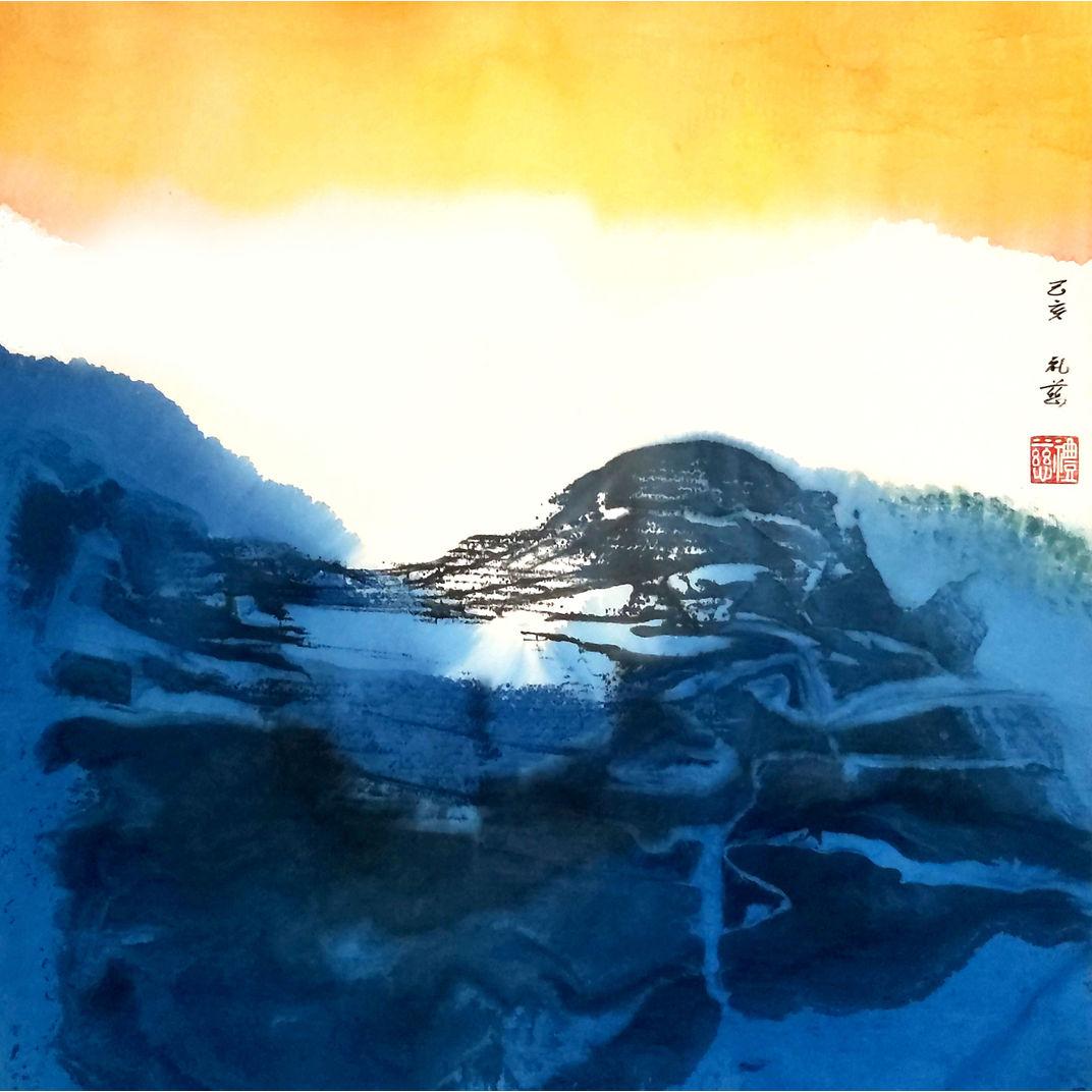 """The Blue Earth""    《大地歸藍》 by Night Fung (馮禮慈)"