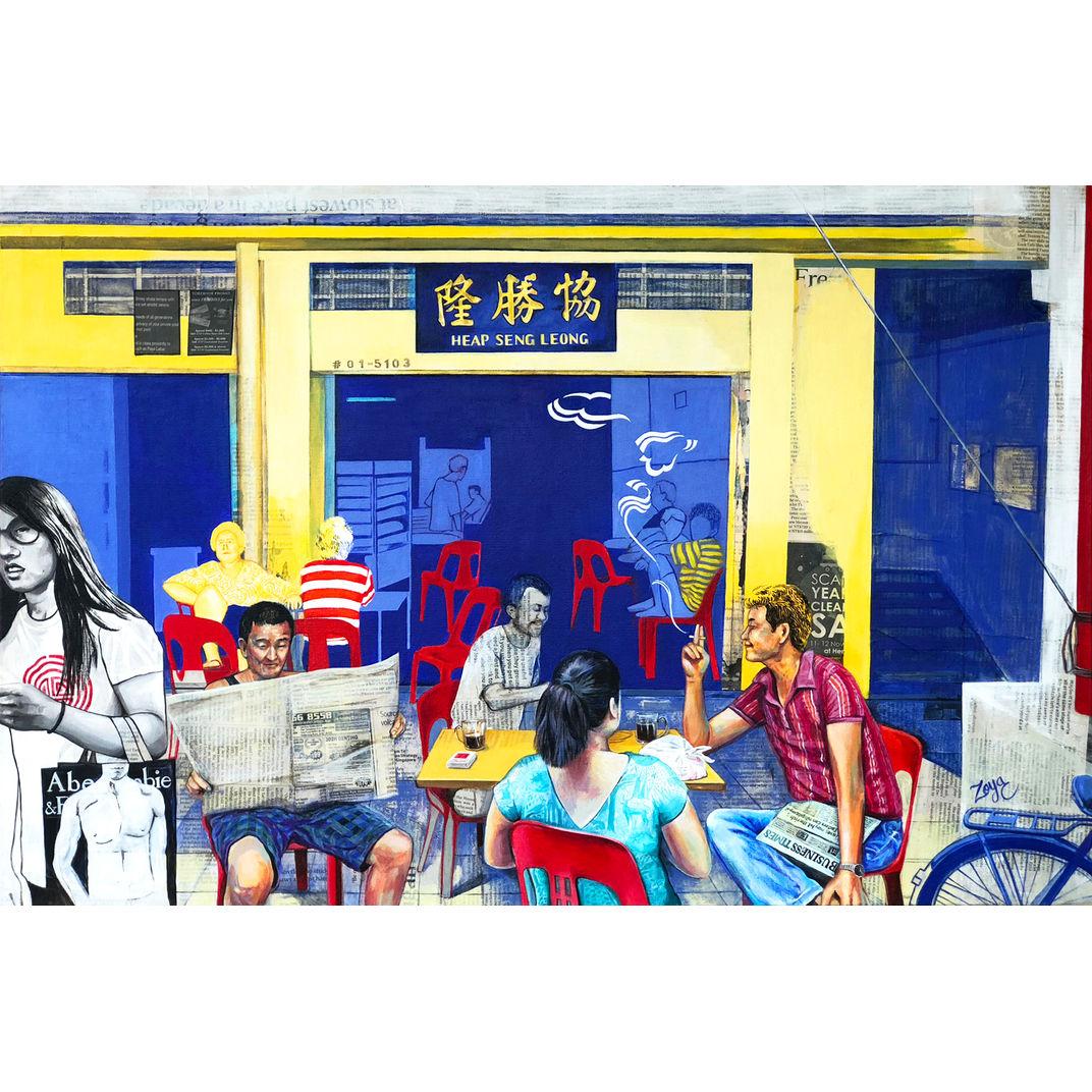 Kopi Gu You At Heap Seng Leong by Zoya Chaudhary