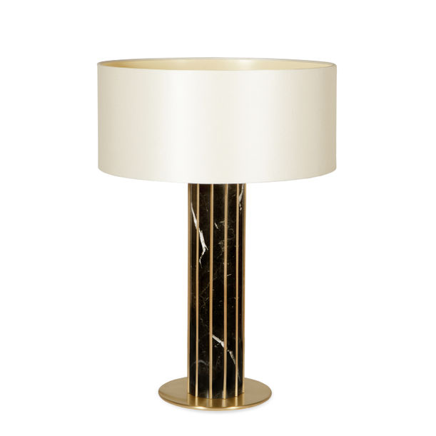 Seagram | Nero Marquina table lamp by Joana Santos Barbosa