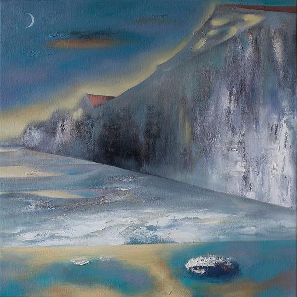 Thin snow by Xinnong Wang