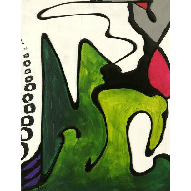 Harlequin Midi 5 by Aarti Bartake